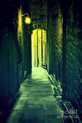 Poster featuring the photograph Alleyway by Craig B