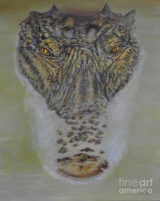 Alligator Alert Poster