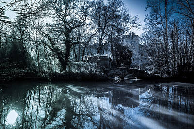 Allington Castle Poster by Dawn OConnor