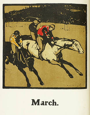 Almanac Of Sports For 1897 Poster