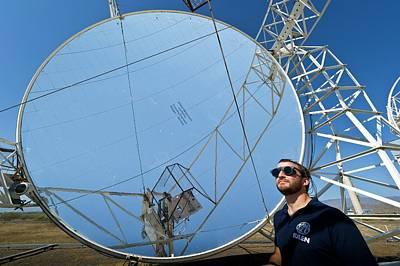 Almeria Solar Platform Research Centre Poster by Philippe Psaila