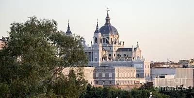 Almudena Church Madrid Poster