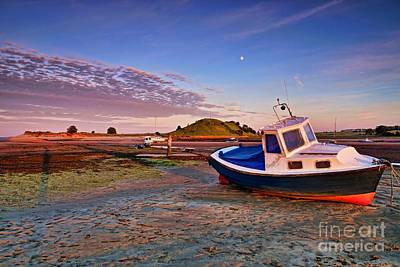 Alnmouth At Sunset Poster