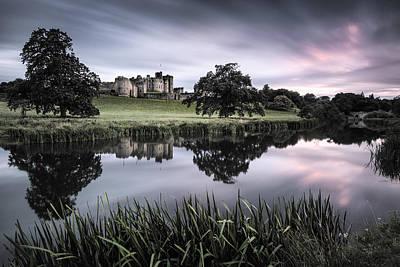 Alnwick Castle Sunset Poster