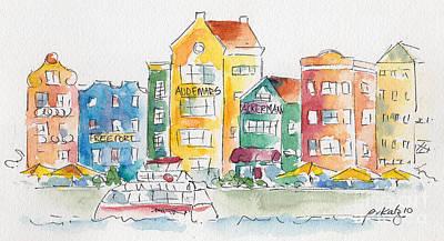 Along Saint Anna Bay Poster by Pat Katz