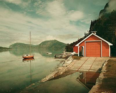Along The Fjord Poster
