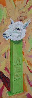 Alpaca Pez Poster