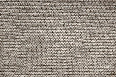 Alpaca Wool Knit Texture Poster by Elena Elisseeva