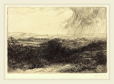 Alphonse Legros, Prospect Le Point De Vue Poster by Litz Collection