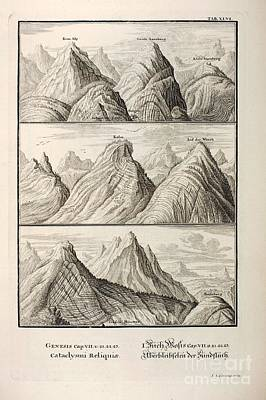 Alpine Geology As Great Flood Evidence Poster