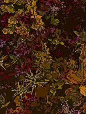 Alpine Groundcover Poster by Anne Havard