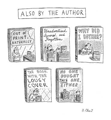 'also By The Author' Poster by Roz Chast