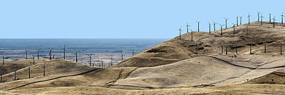 Altamont Pass - The Big Picture Poster by Nikolyn McDonald