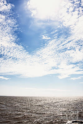 Altocumulus At Sea Poster