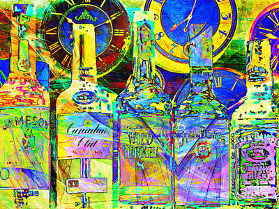 Always Carry A Bottle Of Whiskey In Case Of Snakebite 20140917 V4 Poster by Wingsdomain Art and Photography