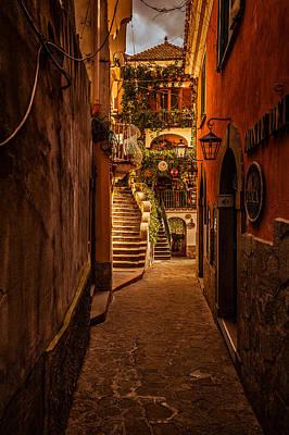 Amalfi Alleyway Poster
