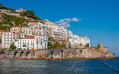 Amalfi Hills Poster
