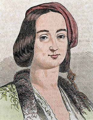 Amalia Of Oldenburg Poster by Prisma Archivo