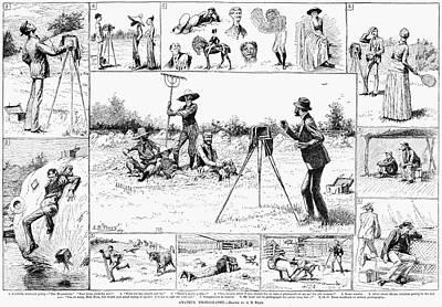Amateur Photographers, 1884 Poster by Granger