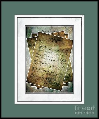 Amazing Grace Poster by Julie Dant