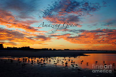 Poster featuring the photograph Amazing Grace On Siesta Key by Margie Amberge
