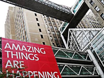 Amazing Things Poster by Sarah Loft