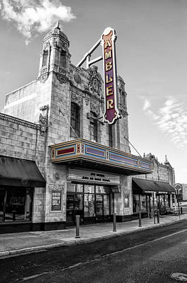 Ambler Theater In Ambler Pennsylvania Poster by Bill Cannon