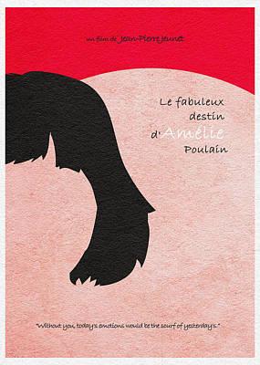 Amelie Poster by Ayse Deniz