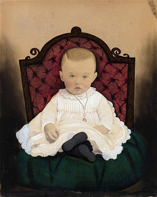 American 19th Century, Baby, 1880s Poster by Quint Lox