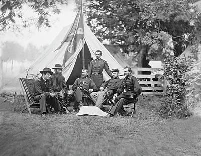 American Civil War Generals Poster by Stocktrek Images