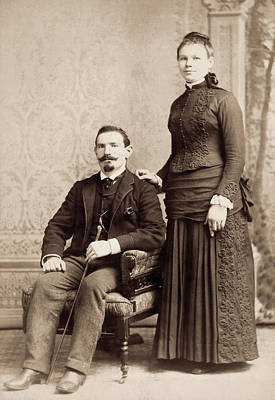 American Couple, 1880s Poster by Granger