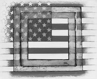 American Flag Poster by Steve  Hester