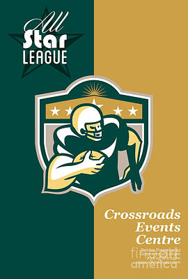 American Gridiron All Star League Poster Poster