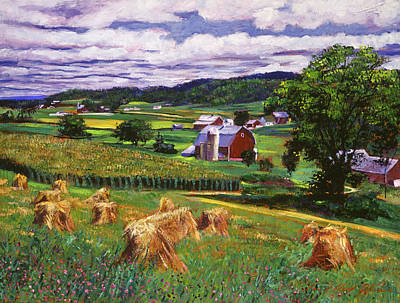 American Heartland Poster by David Lloyd Glover