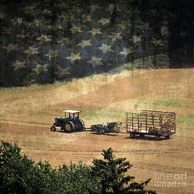 American Heartland Poster by Dawn Gari