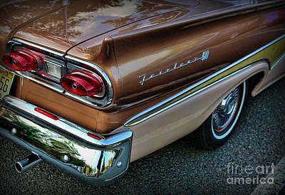 American Luxury - Ford Fairlane 500 Poster by Lee Dos Santos