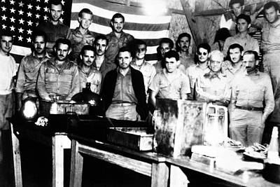 American Pows Celebrate The July 4th Poster by Everett