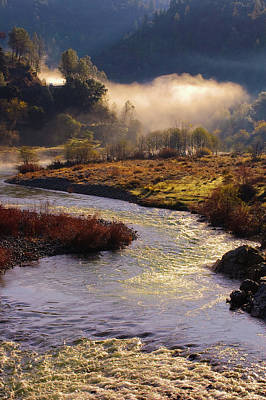 American River Confluence Poster