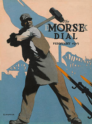 American Shipbuilder Poster