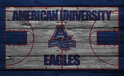 American University Eagles Poster by Joe Hamilton