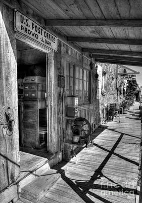 American Wild West 2 Bw Poster