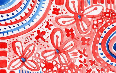 Americana Celebration- Painting Poster