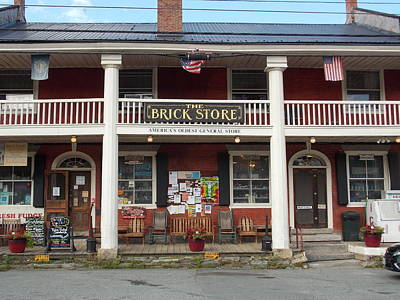 America's Oldest General Store Poster by Catherine Gagne