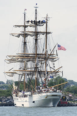 Americas Tall Ship The Eagle Poster by Marianne Campolongo