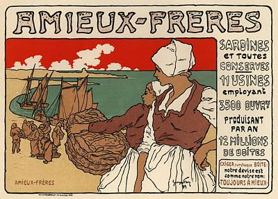 Amieux Freres Poster by Gianfranco Weiss