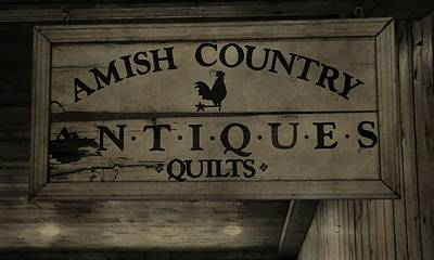 Amish Antique Quilts  Poster