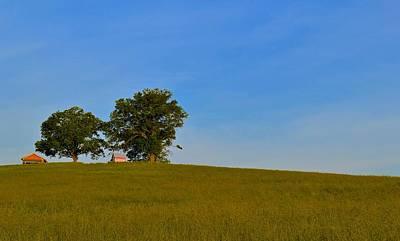 Amish Farm Sunrise Poster by Jason Humbracht