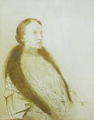 A.m.l. Bonger-van Der Linden Poster by Litz Collection