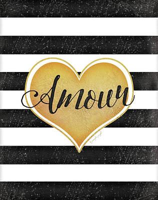 Amour Poster by Jennifer Pugh
