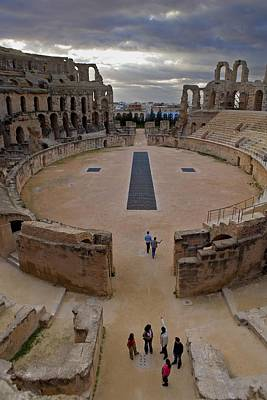 Amphitheatre Of El Djem. 238. Tunisia Poster by Everett